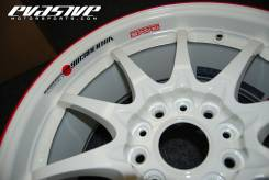 Volk racing ce28n time attack white. 7.5x18 5x114.30 ET43 ЦО 73,0 мм.