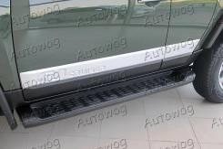 Порог пластиковый. Toyota FJ Cruiser