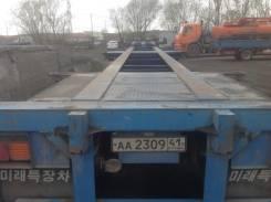 LMC. Продается универсальный полуприцеп контейнеровоз Корея, 32 000кг.
