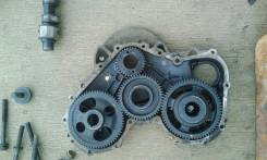 Лобовина двигателя. Toyota Dyna Двигатель B