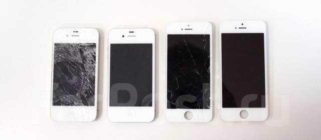 замена спб стекла iphone 4s