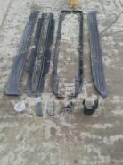 Накладка на порог. Toyota Land Cruiser Prado, TRJ150, GRJ151, GRJ150 Двигатели: 1GRFE, 2TRFE