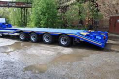 Texoms. Полуприцеп под комбайн погрузочная 600мм 2017, 52 000 кг.