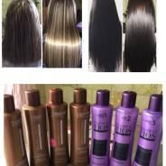Предлагаю кератиновое восстановление волос с эффектом выпрямления!