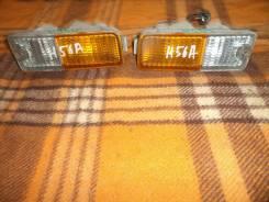 Повторитель поворота в бампер. Mitsubishi Pajero Mini, H56A, H51A Двигатель 4A30