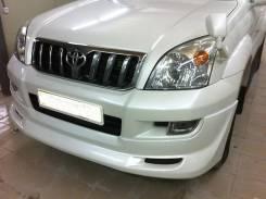 Обвес кузова аэродинамический. Toyota Land Cruiser Toyota Land Cruiser Prado, KDJ120W, KDJ121W, LJ120, LJ125, KDJ125, GRJ120, GRJ121, KZJ120, GRJ120W...