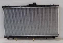 Радиатор охлаждения двигателя. Toyota Corolla, CE108G, CE110, CE113, CE106V, CE101G, CE102G, CE100G, CE100, CE107, CE101, CE102, CE108, CE106, CE107V...