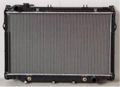 Радиатор охлаждения двигателя. Toyota Land Cruiser, HZJ81, HZJ80, HDJ81, HDJ80, FJ80 Двигатели: 3F, 1HDT, 1HZ, 1HDFT