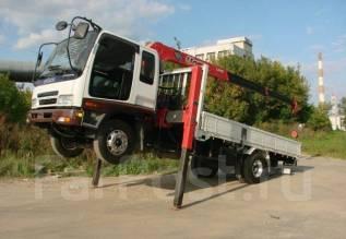 Бортовой грузовик с краном-манипулятором! эвакуатор
