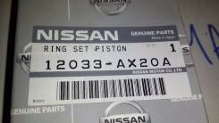 Кольца поршневые. Nissan: Cube, Sunny, Micra, March, Cube Cubic, Note, Micra C+C Двигатель CR14DE