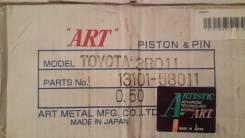 Поршень. Toyota Land Cruiser, BJ42, BJ46, BJ45, BJ60, BJ61 Toyota Land Cruiser Prado, BJ42, BJ46 Toyota Dyna, BU34, BU23, BU45, BU46, BU36, BU40, BU51...