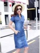 Платья джинсовые. 42, 44, 46, 48