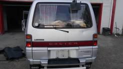 Дверь багажника. Mitsubishi Delica, P25W Двигатель 4D56