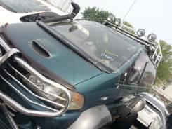 Обвес кузова аэродинамический. Mitsubishi Delica