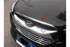 Дефлектор капота. Hyundai ix35