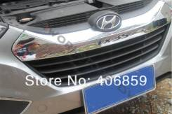 Молдинг решетки радиатора. Hyundai ix35