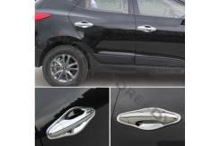 Накладка на ручки дверей. Hyundai ix35