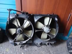 Радиатор охлаждения двигателя. Toyota Camry, SV41 Двигатель 3SFE