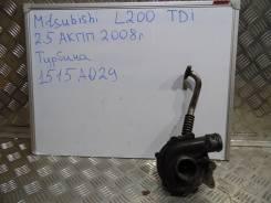 Турбина. Mitsubishi L200