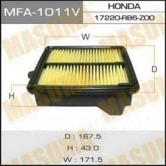Фильтр воздушный. Honda: Jazz, Element, City, Fit, Freed Двигатели: L12B1, L12B2, L13Z1, L13Z2, L15A7