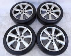 Оригиналы Toyota на лете Dunlop 225x45xR18. 8.0x18 5x114.30 ET50 ЦО 65,1мм.