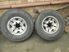Колёса 265/70R15 Dunlop Grandtrek SJ6. 7.0x15 6x139.70 ET-22