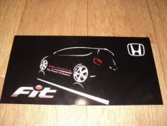 Табличка. Honda Fit