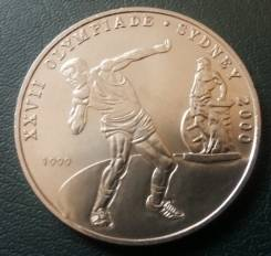 Конго 100 франков 1999 год. UNC