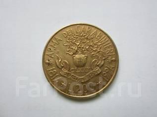 Италия 200 лир 1994 года. 180 лет карабинерам.