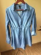 Рубашки джинсовые. 44, 46