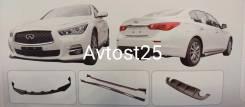 Обвес кузова аэродинамический. Infiniti Q50, V37 Двигатели: VQ35HR, VR30DDTT, M, 274, DE, 20, AL. Под заказ