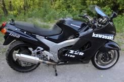Kawasaki ZZR 1100. 1 100 куб. см., исправен, птс, с пробегом