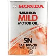 Honda. Вязкость 10W-30, полусинтетическое