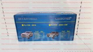Накладка декоративная. Toyota Land Cruiser Prado, GRJ120W, GRJ121W, KDJ120W, KDJ121W, KDJ125W, RZJ120W, RZJ125W, TRJ120W, TRJ125W, VZJ120W, VZJ121W, V...