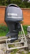 Yamaha. 350,00л.с., 4х тактный, бензин, нога X (635 мм), Год: 2011 год
