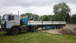 МАЗ. Продаётся сцепка Маз с бортовым полуприцепом, 14 860 куб. см., 15 000 кг.