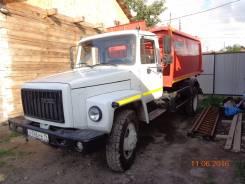 ГАЗ 3309. Газ-3309 мусоровоз, 4 750куб. см.