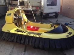 Hovercraft. Год: 1989 год, длина 3,00м., двигатель стационарный, 26,00л.с., бензин