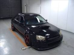 Subaru Impreza WRX STI. Черный Конь СТИ