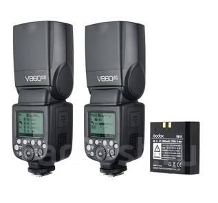 Вспышка Godox VING V860II Canon/Nikon с li-ion аккумулятором. Под заказ
