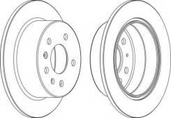 Тормозной диск задний OPEL VECTRA A Brembo 08.5879.10