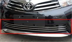 Накладка на решетку бампера. Toyota Corolla, ZRE182, ZRE181, NRE180. Под заказ