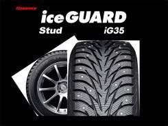 Yokohama Ice Guard IG35. Зимние, шипованные, 2016 год, без износа, 4 шт