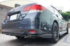 Накладка на бампер. Subaru Legacy B4, BM9, BMG, BMM. Под заказ