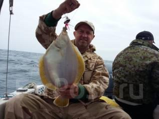 Аренда катера , острова, рейд, рыбалка на камбалу, симу, кальмара, треску. 8 человек, 60км/ч
