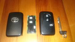 Ключ зажигания. Toyota Sai, AZK10 Toyota Corolla Fielder, ZRE162, NRE161G, NZE164G, NKE165, NZE161G, NKE165G, NZE164, NZE161, NRE160, ZRE162G Toyota C...