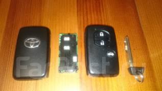 Ключ зажигания. Toyota Corolla Axio, NZE164, NZE161, NRE160, NKE165, NRE161, ZRE162 Toyota Mark X, GRX135, GRX130, GRX133 Toyota Sai, AZK10 Toyota Cor...