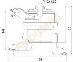 Подушка двигателя RH TOYOTA CALDINA/OPA/PREMIO/ALLION/VISTA/ARDEO 1ZZFE 00- ST-12362-22010