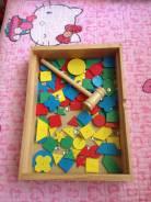 Игрушки деревянные.