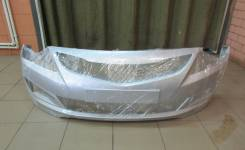 Бампер передний Hyundai Solaris NEW 2015 (рестайлинг) цвет серебро